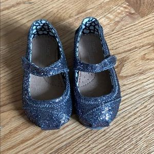 TOMS toddler Mary Jane shoes